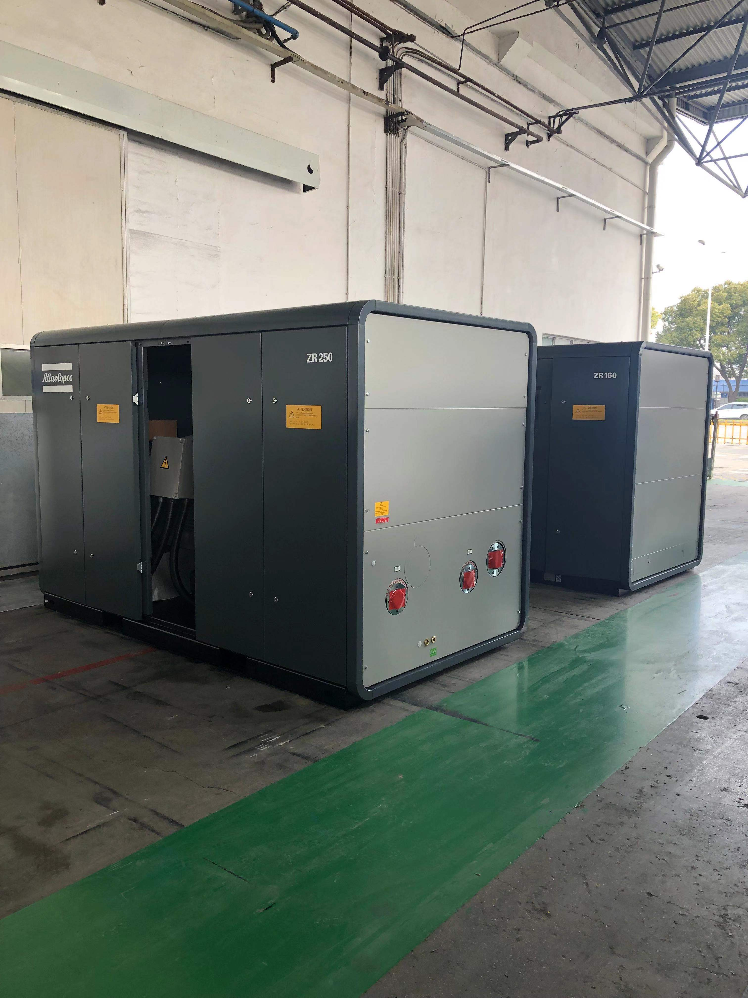 Atlas Copco Oil-lubricated Screw Compressors 2-stage GR 110-200