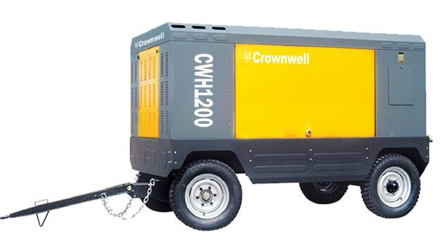 Crownwell portable compressor